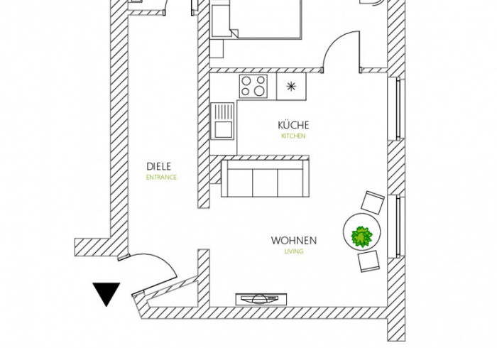 Glück Auf Appartement Lösorter-Strasse
