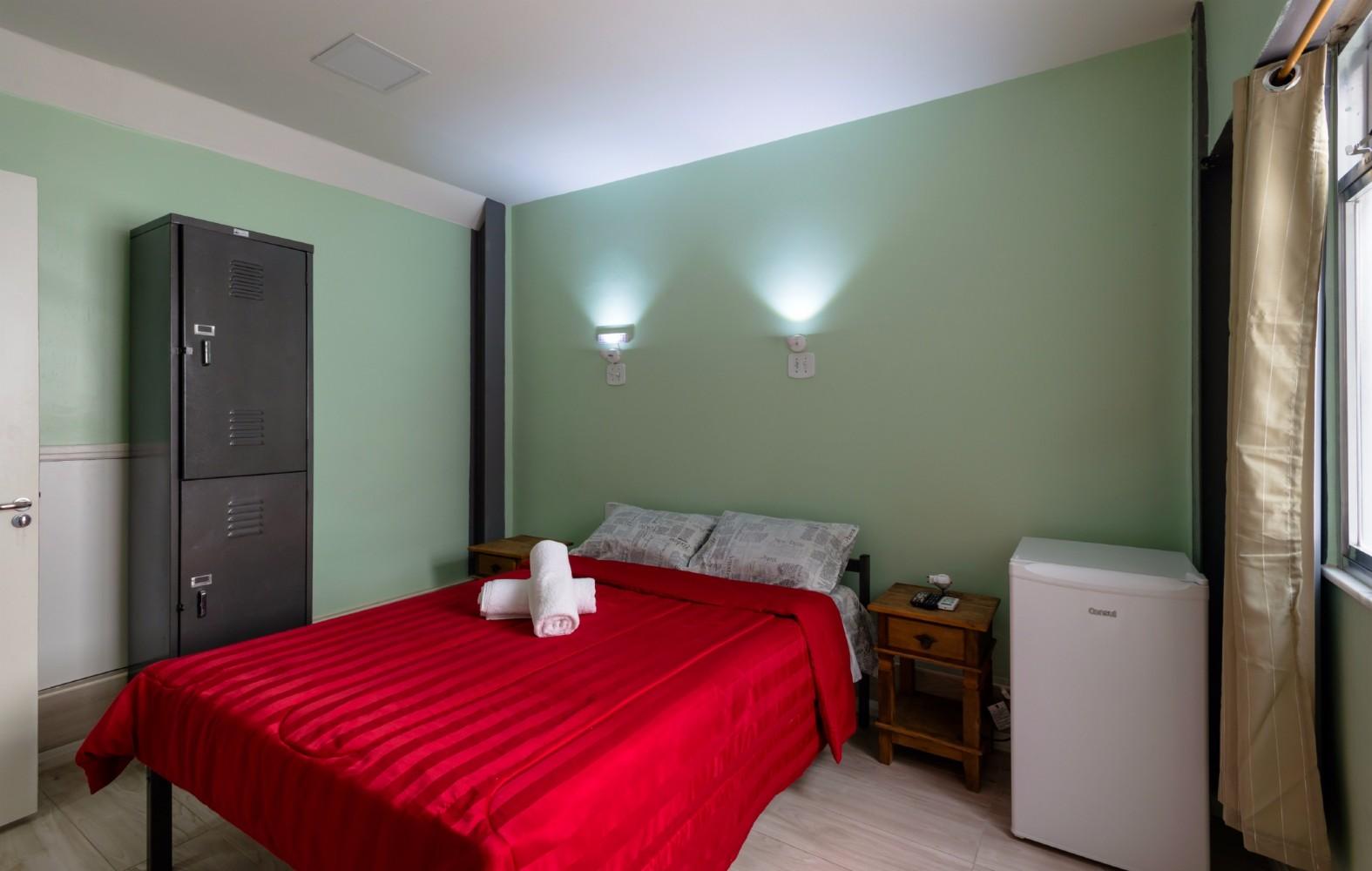 Casa Del Mar Hostel Rio De Janeiro Brasil Best Price Guarantee ~ Sirio Libanes Quarto E Quarto De Menina Verde
