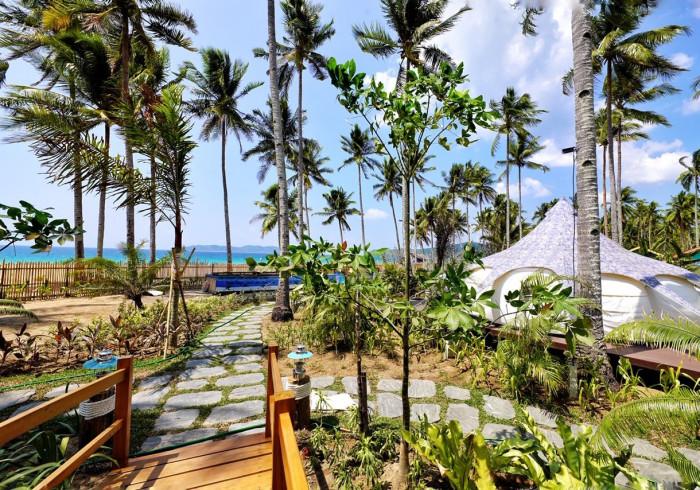 nacpan beach glamping el nido philippines best price guarantee rh hotels cloudbeds com