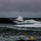 West coast winter storm watching in Ucluelet